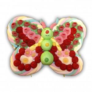 Papillon en bonbons Océane