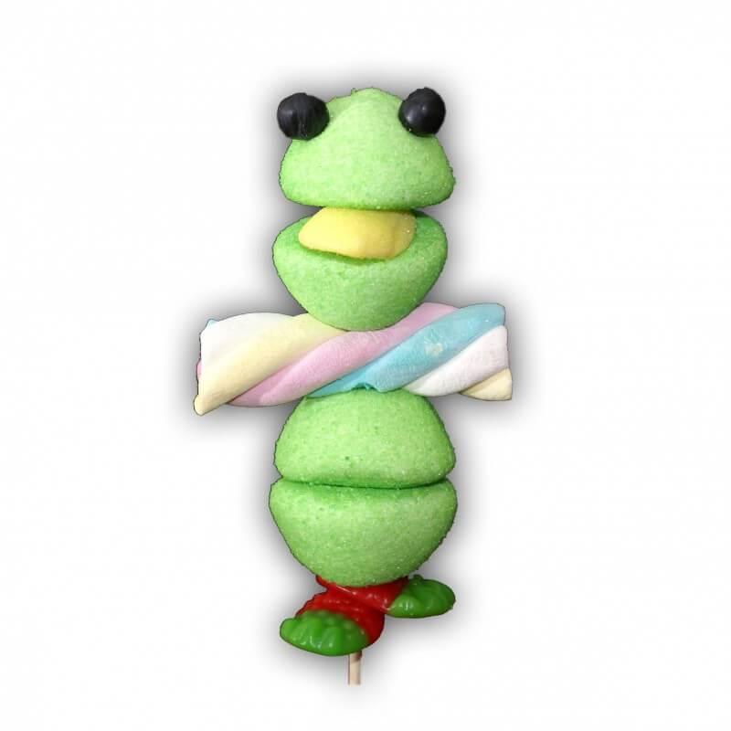 Brochette en bonbons grenouille