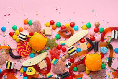 Faire un gâteau de bonbons pour anniversaire - Bonbons du Ried